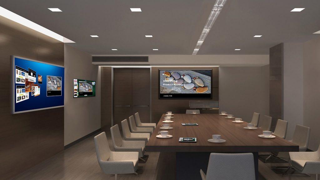 Telewizor do prezentacji multimedialnej