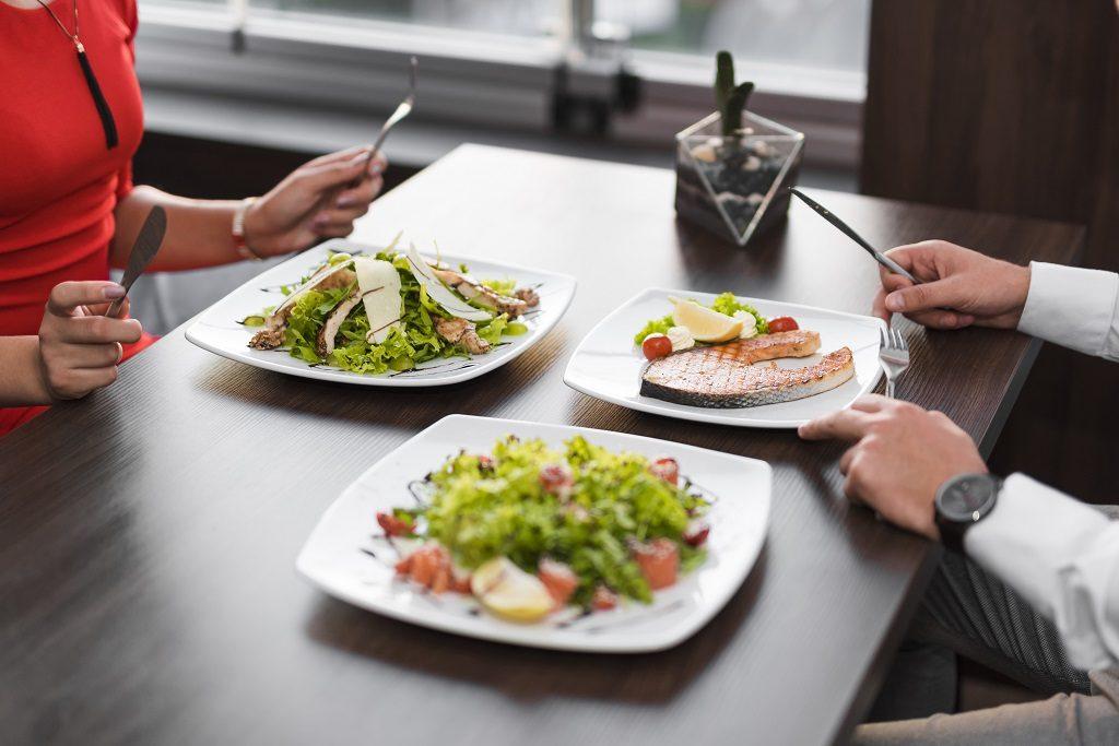 Smaczny obiad w Gdańsku